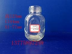 高档蜂蜜玻璃瓶高白料