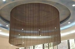 Provide Various Security Woven Wire Cloth Drapery