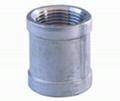 标准不锈钢有边接头npt pt