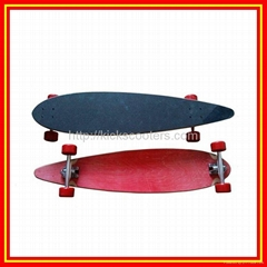 Longboards Canadian Maple Long Skateboards Street Surfing Board Skateboarding
