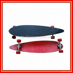 Longboards Canadian Maple Long Skateboards Street Surfing Board Skateboarding