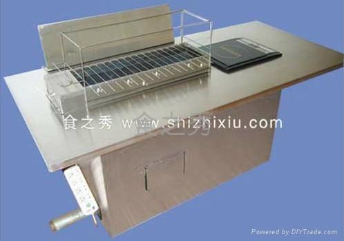 木炭全自动烧烤机 2