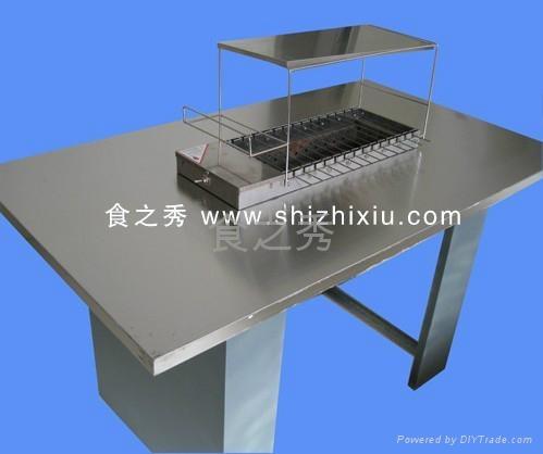 木炭全自动烧烤机 4