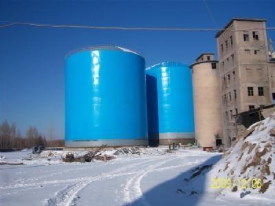 山東大型鋼板倉 4