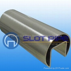 stainless steel hardware with slotted tube