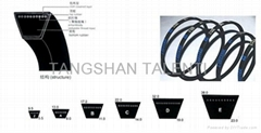 transmission  v belt for washing machine