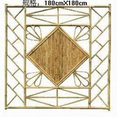 bamboo fence, bamboo garden fence, bamboo screen