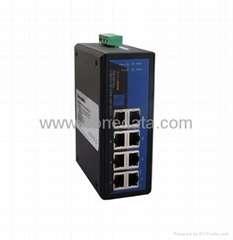 8 port 10/100M Unmanaged Industrial Ethernet Switch