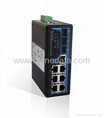 7+3G-port Gigabit WEB Managed Industrial Ethernet Switch