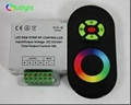 12V/24V RF wireless touch rgb led controller with touch screen  1