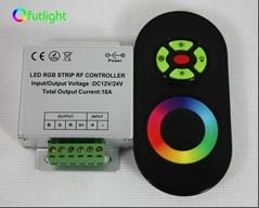 12V/24V RF wireless touch rgb led controller with touch screen