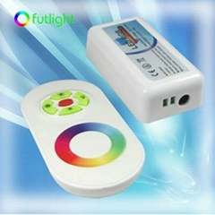 NEW Design RF Wireless RGB LED Controller & Touch Remote