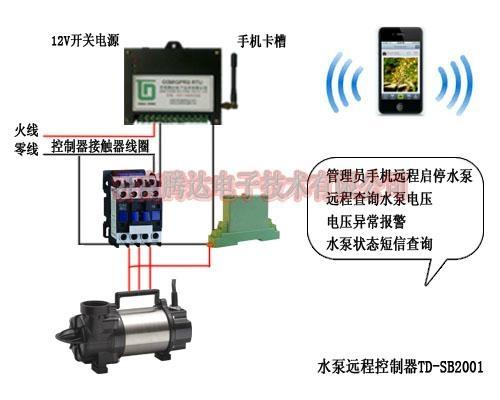 水泵远程控制器
