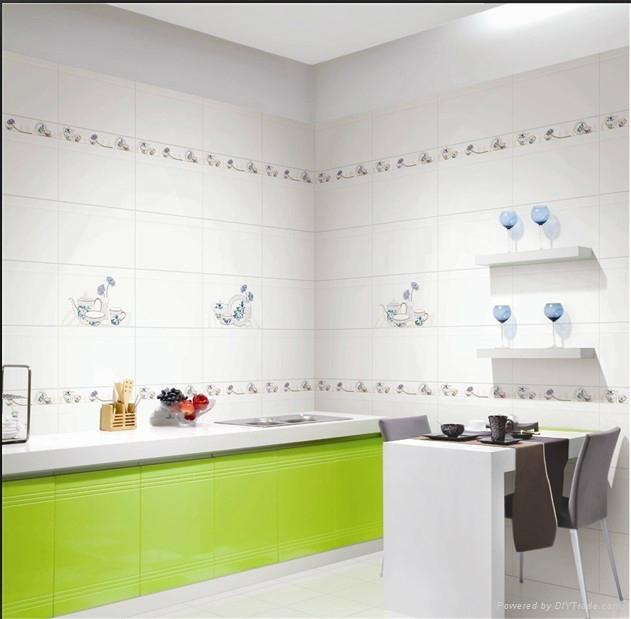 Morden Kitchen Room Glazed Wall Tiles 300X600mm