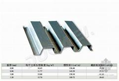 開口型鍍鋅壓型板