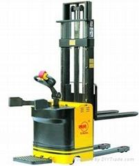Manual hydraulic lift car
