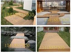 福建塑木园林地板