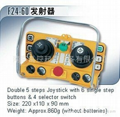 台湾禹鼎双梁行车遥控器F24-60