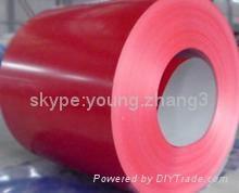 Color steel coil tile