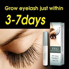 Natural no harm eyelash growth liquid