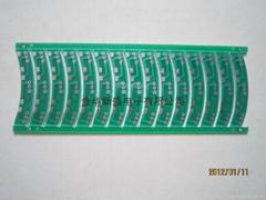 機電 PCB   噴錫雙面板
