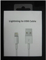 Lightning 8pin USB 2.0 Charging Sync Cable For iPhone 5 itouch mini ipad (Hot Product - 1*)