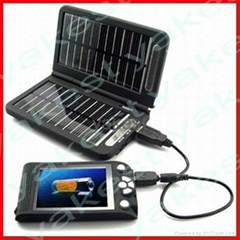 Elegant solar phone charger for emergency and traveling