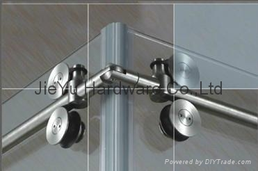 Free shipping barn door hardware sliding glass shower door product image planetlyrics Images