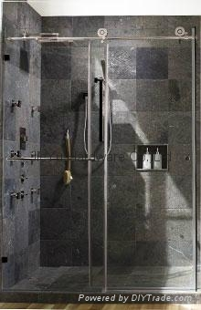 Free Shipping Barn Door Hardware Sliding Glass Shower Door