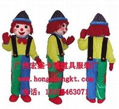 人物服裝小丑