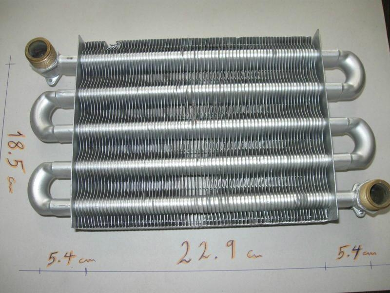 Wall Hung Gas Boiler Spares - Monotermic Heat Exchanger ...