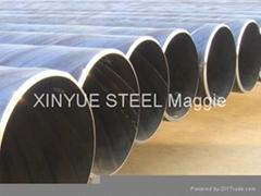 API 5L X52 X60 X70 SSAW Steel Oil Line Pipe