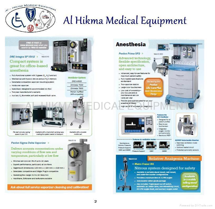 ANESTHESIA MACHINE - PENLON PRIMASP2 - AL HIKMA MEDICAL