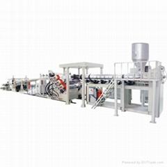 PC/PMMA Sheet Extrusion