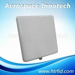 Rugged industrial application UHF long range integrated reader