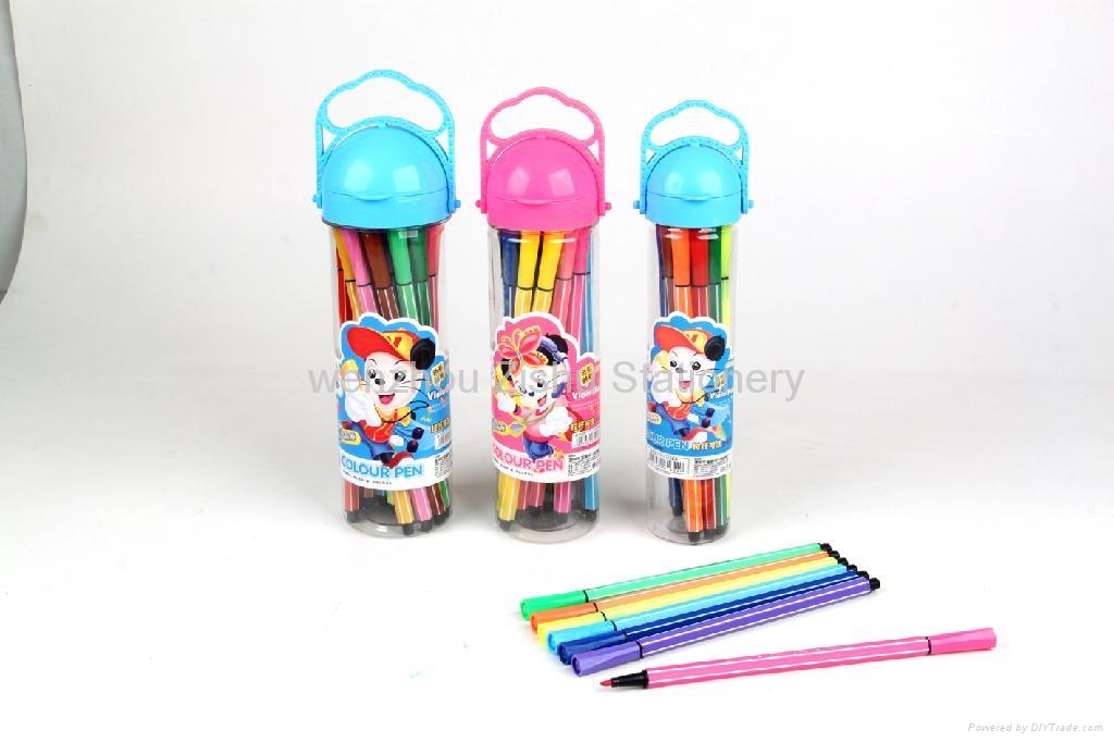bar shape  water color pen  1