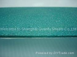 Polycarbonate embossed sheet 1