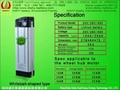 24V 20AH Lithium/Li ion E bike battery