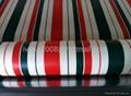 Anti Flame Coated Striped Tarpaulin