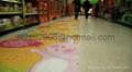 digital floor graphics