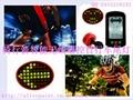 创意无线遥控LED自行车感应尾灯 1