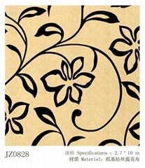 seamless fabric wallcovering