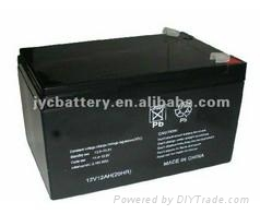 Solar lamp storage battery 12V12Ah