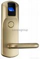 Fingerprint Lock with Remote Control