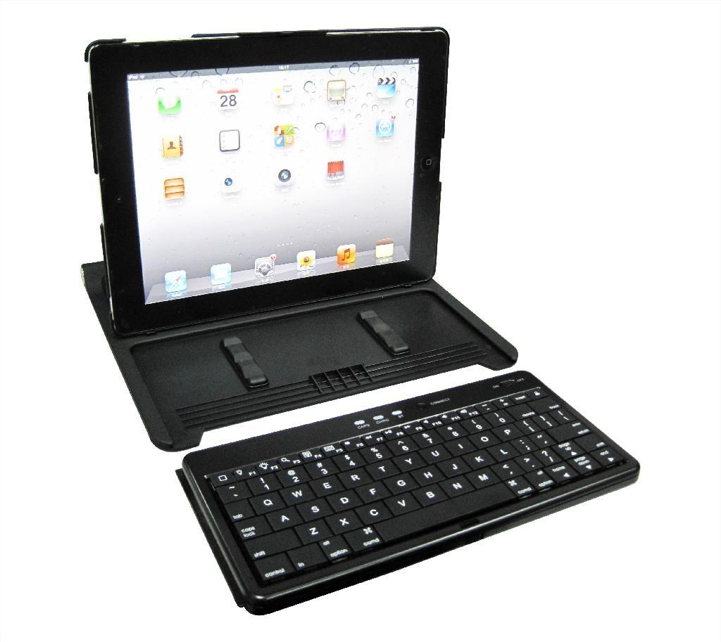 New Upgrade Rubber Oil Keyboard for iPad 2 & iPad 3 keyboard   4