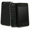 Backlit Mini Wireless Bluetooth Keyboard for iPhone 4 and iPhone 4S 2