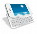 Backlit Mini Wireless Bluetooth Keyboard for iPhone 4 and iPhone 4S 3