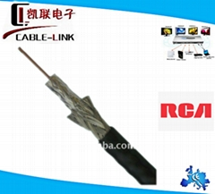 high end of coaxial RG59 cable