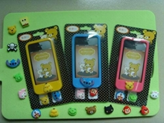 果果CC硅胶手机套