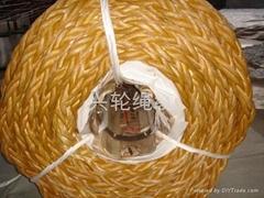 高分子聚乙烯纖維八股繩